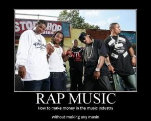 rap music – how to make money in the music industry without making any music