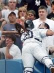 Sissy baseball fan
