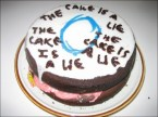 The Cake is a Lie – Portal