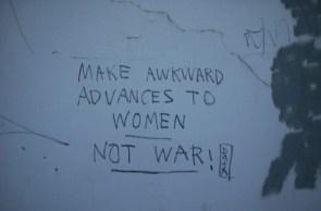 Make love, not war…