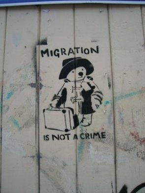 Paddington Bear Graffiti