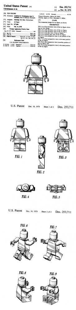 minifig patent
