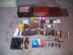 MCS Collections – Mine( and my wifes') tobacco collection