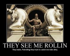 Xerxes ridin dirty