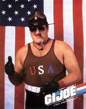 G.I. Joe Movie Cast – Sgt Slaughter