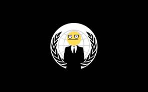Unimpressed Anonymous Smiley