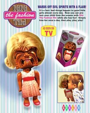 Kiki The Fashion Tiki Doll