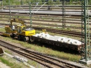 Railway Construction Site Vehicle