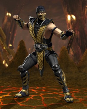 Scorpion Render Mortal Kombat vs DC