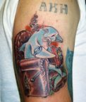Bong Dolphin Tattoo