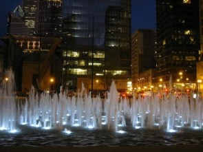 Downtown Chicago – fountains