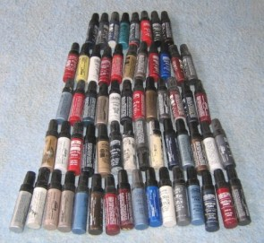 Touch Up Paint Collection