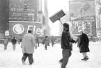 Blizzard, Times Square