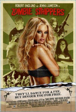 zombie strippers movie poster