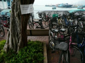 Hong Kong's a funny place – no bicycle parking