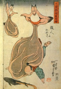 Japanese Tanuki Art (Might be NSFW?)