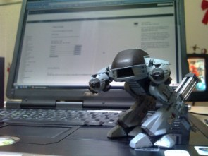ED-209: Put down your camera