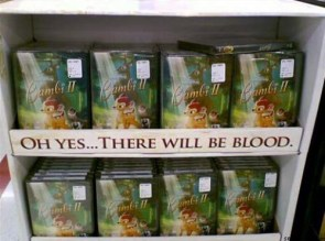 Oh yes… there will be blood