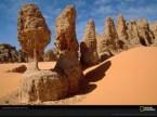 Sandstone Pillars, Sahara Desert, Chad, 1999
