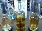 Multi-use liquor bottle