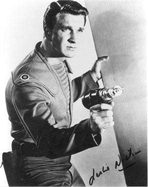 Leslie Nielson in Forbidden Planet