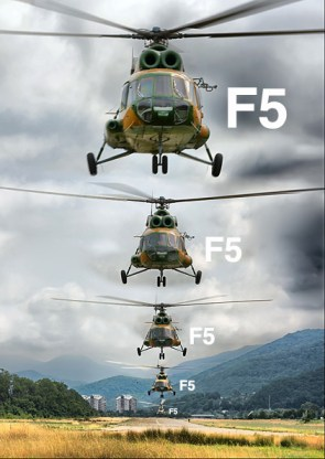 Helicopter Take Off Line – F5 F5 F5 F5 F5