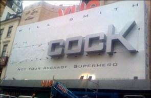 Cock …Not your average Superhero!!