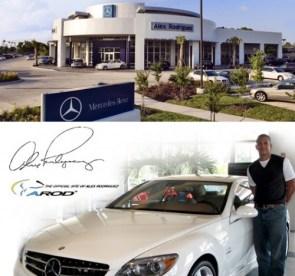 Alex Rodriguez Houston Mercedes-Benz