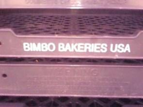 Bimbo's anyone?