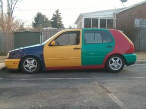 Colorful Car