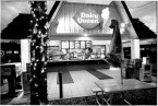Dairy Queen in Black and White