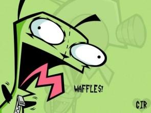 Gir Waffles Wallpaper