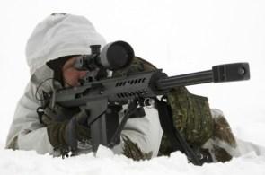 Arctic Sniper w. Barett M82