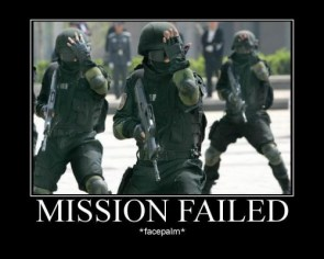 Mission Failed