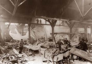 Building of the Statue of Liberty