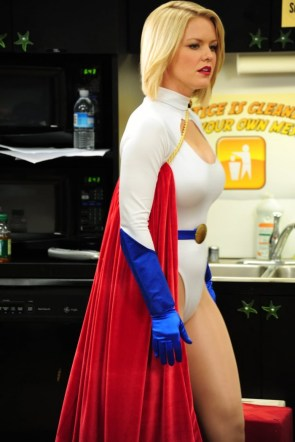 Carrie Keagan Power Girl