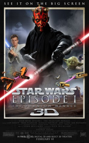 Star Wars Episode 1 In 3D