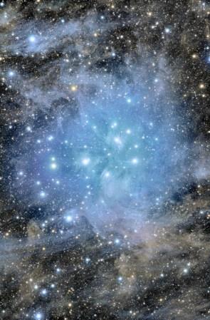 Blue stars