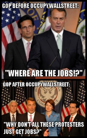 GOP Response To Occupy Wall Street