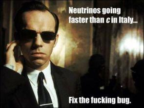 neutrino glitch