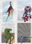 Avengers Dinosaurs