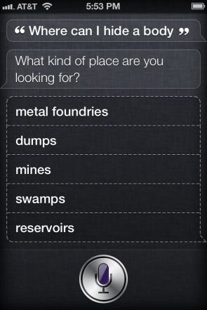Fun with Siri