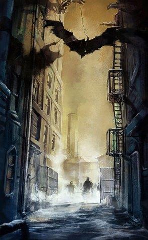 Batman Arkham City concept art