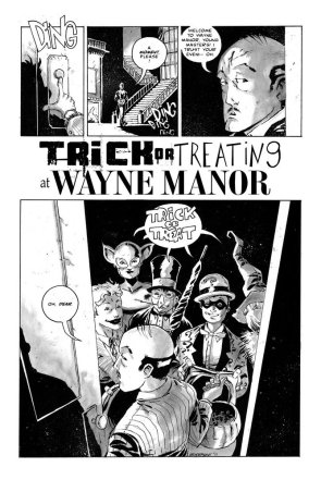 Trick or Treating at Wayne Manor