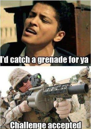 I'll Catch A Grenade For You