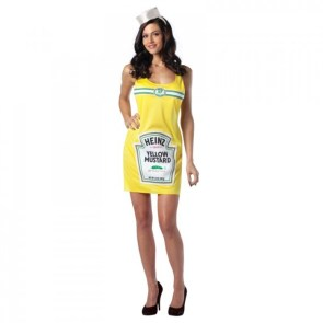 sexy mustard costume