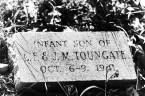 Child's headstone