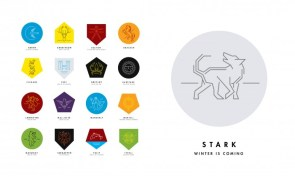Game of Thrones sigils – modified
