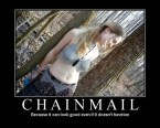Chainmail Motivational Poster