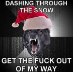 Dashing through the snow..